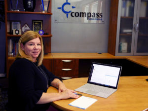Kathy Mulgrew from Compass Solutions