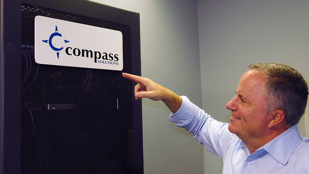 Marty Lyman at Compass Solutions